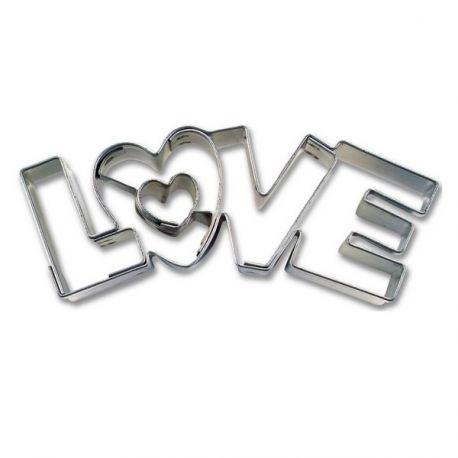 "Emporte-pièce ""LOVE"""