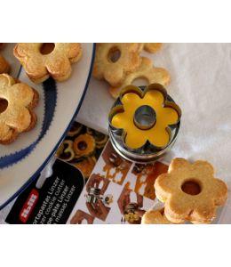 """Emporte-pièce pour biscuits Linzer  """"Fleur"""""""