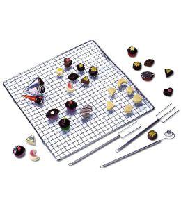 Set para chocolates y bombones - 4 piezas