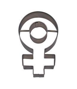"""Emporte-pièce """"symbole femelle"""""""
