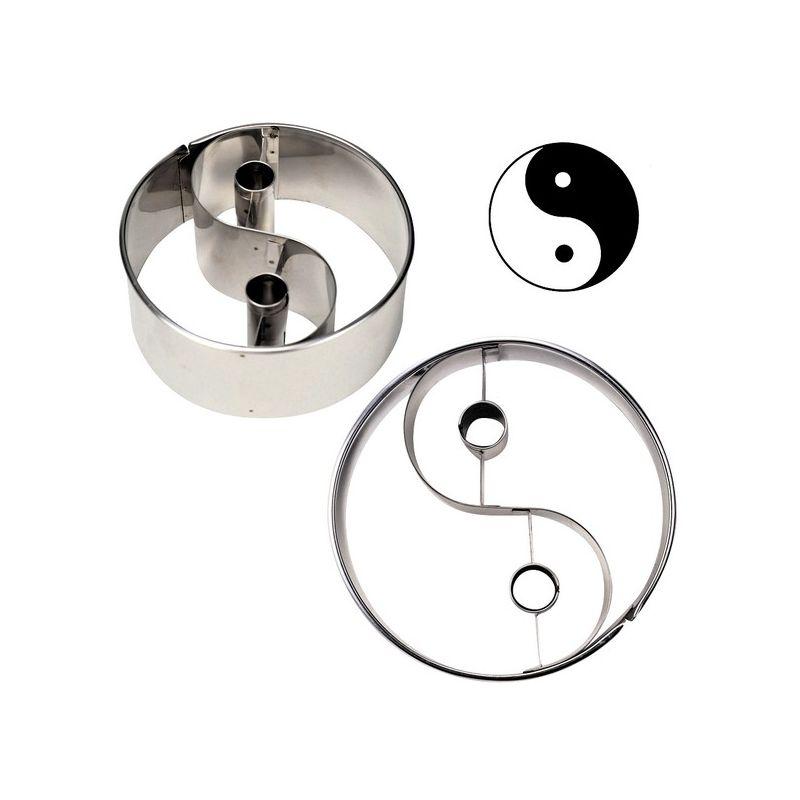 emporte pi ce yin yang stadter 10cm. Black Bedroom Furniture Sets. Home Design Ideas
