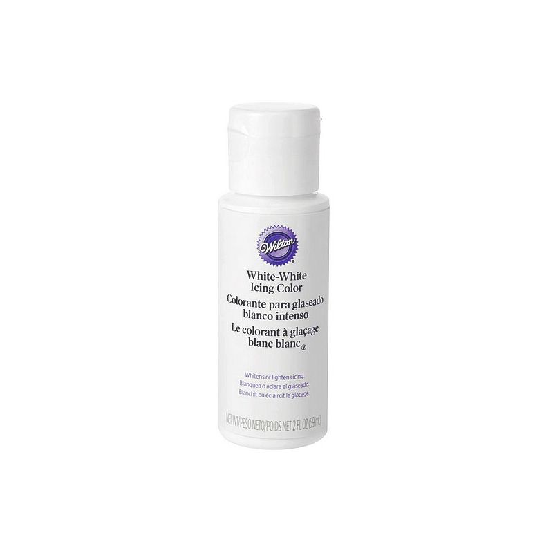 colorant blanc pour glaage wilton - Colorant Wilton