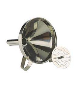 Entonnoir inox avec filtre - Ø10cm