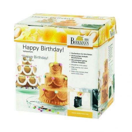Moule 3D Happy Birthday