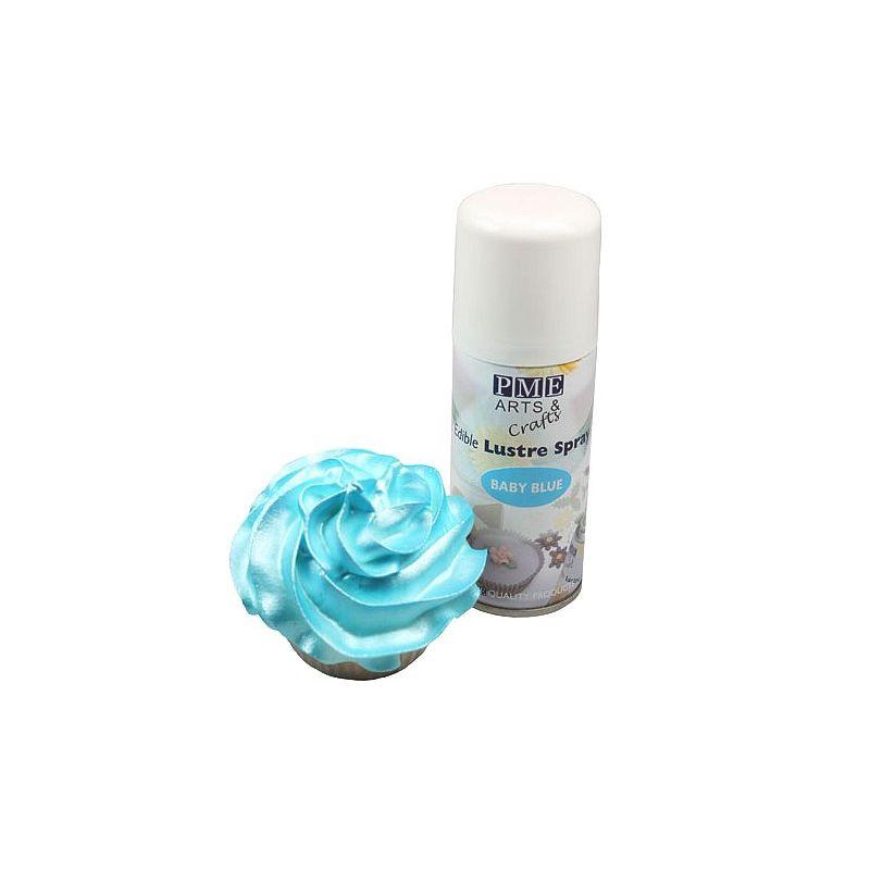 spray alimentaire bleu pme - Colorant Alimentaire Bleu Turquoise