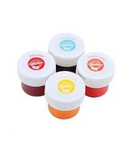 """Colorant liposoluble """"Spécial chocolat"""" - Pack de 4 couleurs"""
