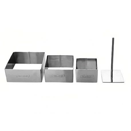 Square Food Ring Mold Set