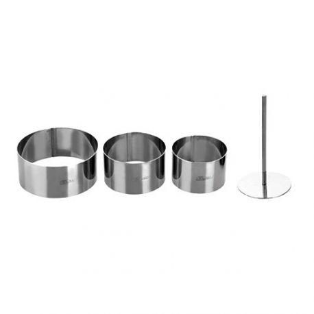 Round Food Ring Mold Set Ibili