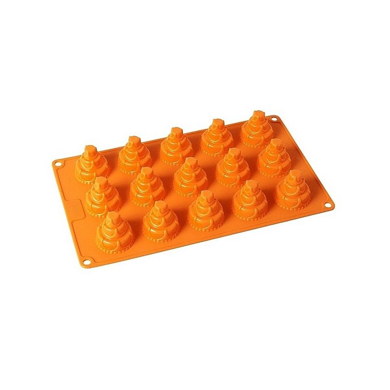 "15 Cavity Silicone Mold ""Happy Birthday"""
