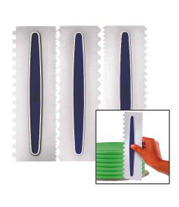Set de 3 peines para decorar - WILTON