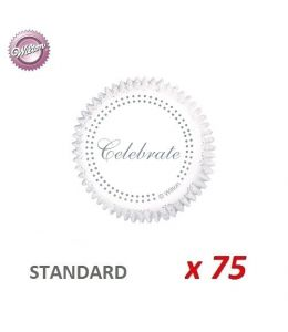 "Caissettes cupcakes ""Celebrate"" x 75"