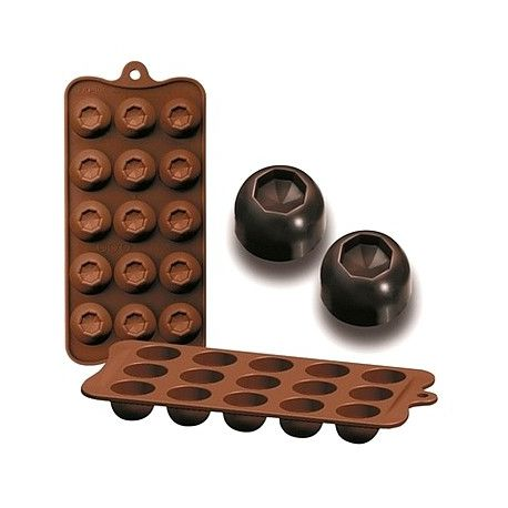 "Moule silicone pour chocolat ""Diam"""