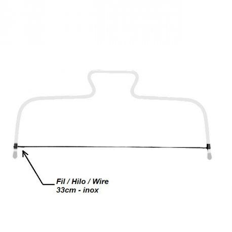 Fil de rechange pour lyre - 33cm