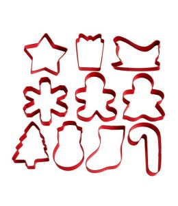 Set 10 Cookie Cutters \