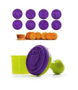 Set of 8 Cookies/Bread Stamps