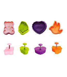 4 Cookie Cutters with...