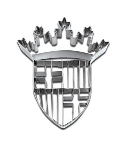 """Cookie/Pastry Cutters """"Coat of Arms of Barcelona"""""""