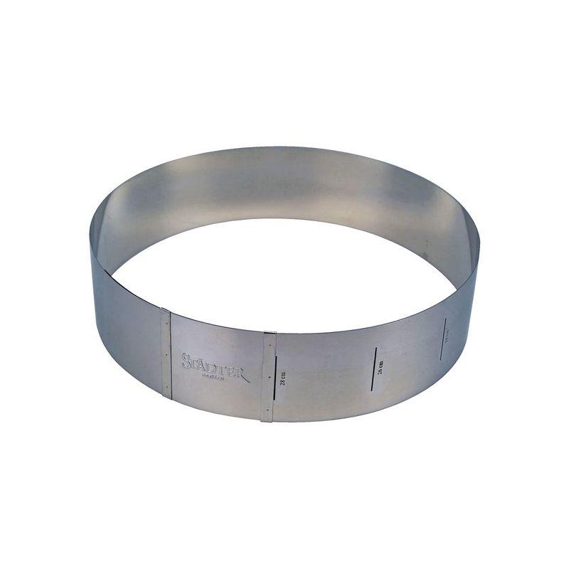 Cercle à pâtisserie extensible - Hauteur 10cm