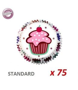 "Caissettes cupcakes ""Be My Cupcake"" x 75"