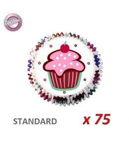 """Cápsulas cupcakes """"Be My Cupcake"""" x 75"""