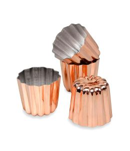 Copper Cannele Mold