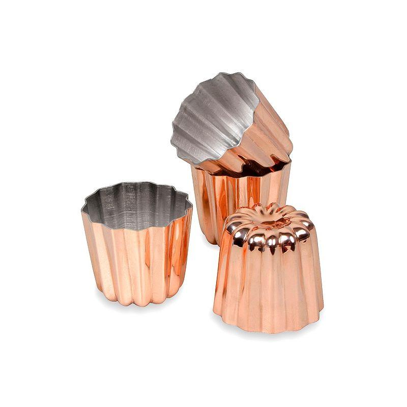 Copper Cannele Mold