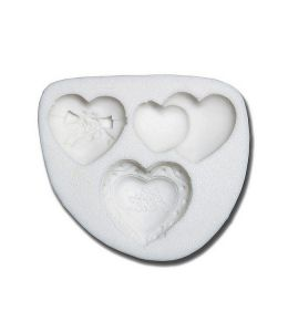 "Decorative Mold - ""Hearts"""