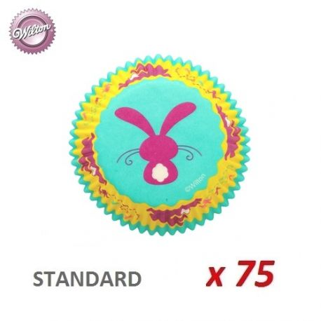 """Caissettes cupcakes """"Lapin"""" x 75"""