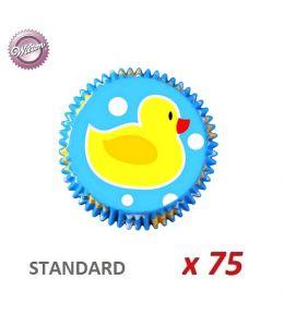 """Cápsulas cupcakes """"Pato Amarillo"""" x 75"""