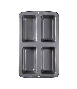 Molde para mini pan - 4 cavidades
