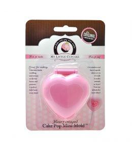 """Molde para """"Cake Pop"""" - CORAZON"""