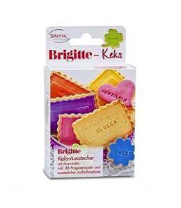 """Découpoir Petits-Beurres """"Brigitte Keks"""""""
