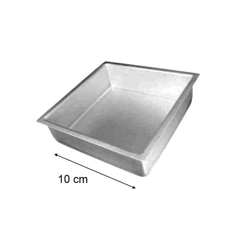 moule g teau carr extra profond 10x10x10cm. Black Bedroom Furniture Sets. Home Design Ideas