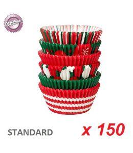"""Caissettes cupcakes """"Noël"""" x 150"""