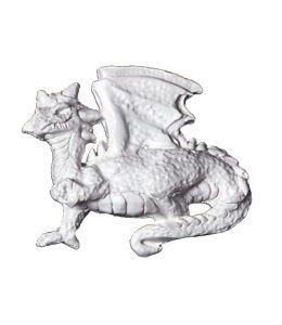 """Molde decorativo - """"Dragón"""""""