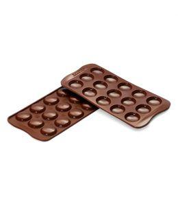 "Moule silicone pour chocolat ""Macaron"""