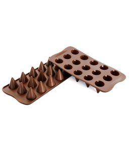 """Moule silicone pour chocolat """"Cône"""""""
