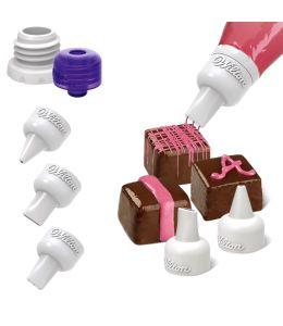 Set décoration Chocolat - 5 pièces - WILTON