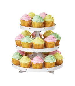 Soporte de cartón 24 cupcakes - WILTON