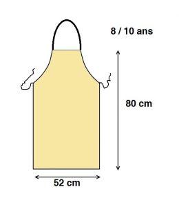 Delantales Para Niños Cocina | Delantal Para Ninos Blanco 80 X 52cm