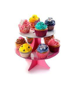 Soporte de cartón 10 cupcakes - IBILI