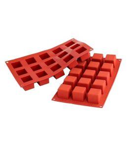 """Moule silicone """"Petit Cube"""" - 15 cavités"""