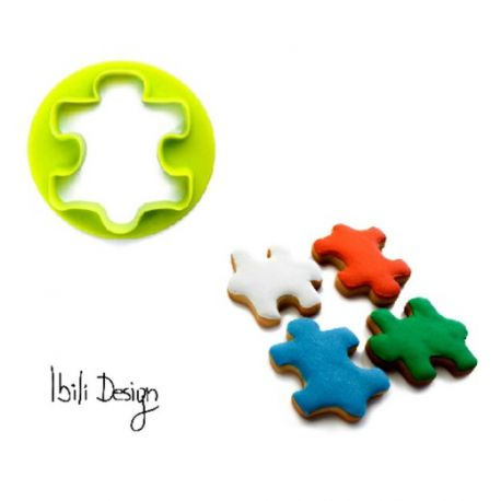 Cookie Pastry Cutters Quot Puzzle Quot Ibili
