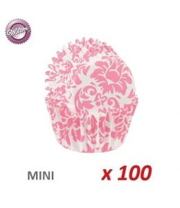 "Mini Baking Cases ""Damask..."