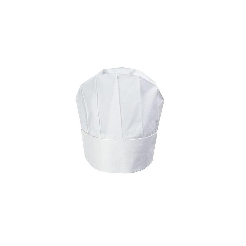 Préférence Toque de Chef jetable - modèle arrondi - BLANC - 23cm YR27