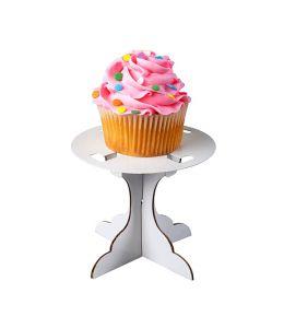 Soporte de cartón 1 cupcake...