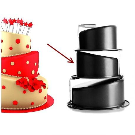 Topsy Turvy Cake Pan 216 17cm