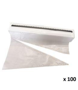 Manga pastelera desechable - 40cm - UNIMANG x 100