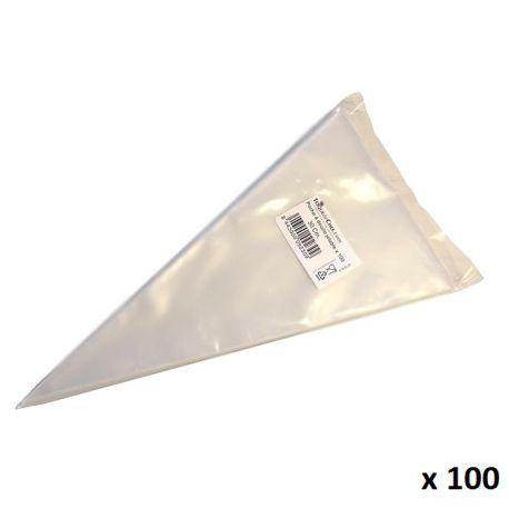 Manga pastelera desechable - 30cm - UNIMANG x 100
