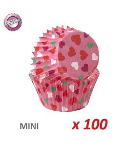 "Mini Baking Cases ""Heart"" x..."